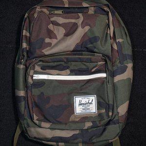 Herschel Supply Co Pop Quiz Woodland Camo Backpack